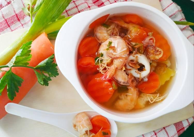 Sop Wortel Seafood