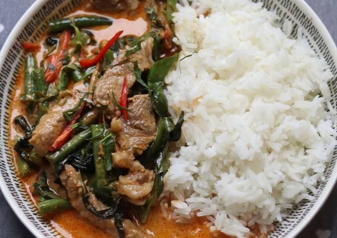 Panang beef curry แพนงเนื้อ 🥩 🍛