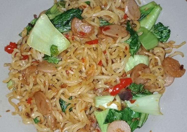 Resep Mie Gacoan KW 😆 kreasi indomie goreng Paling Mudah