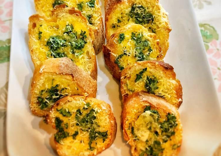 Resep Garlic Bread ala Tiger Kitchen 🥖 Paling dicari