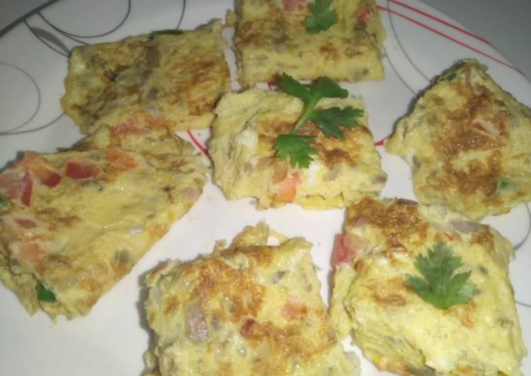 Quick Egg omlett