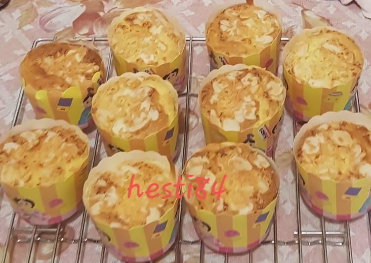 Bolu Hongkong Keju Almond Super Lembut