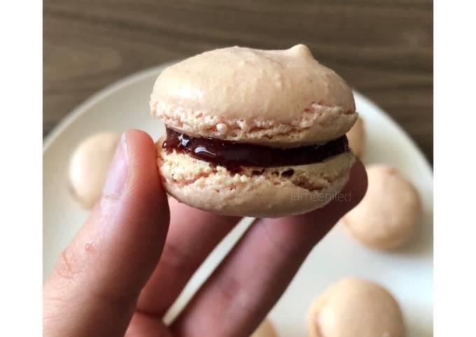 Macarons à la meringue française 🇫🇷