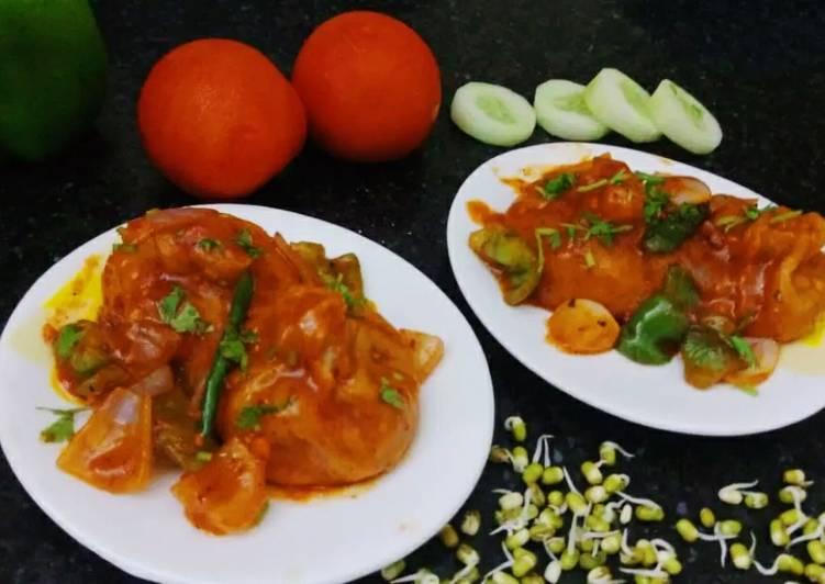 Recipe of Perfect Chilli momos
