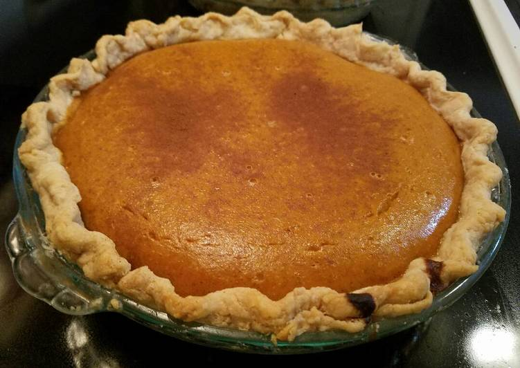 Recipe: Tasty Pumpkin Pie