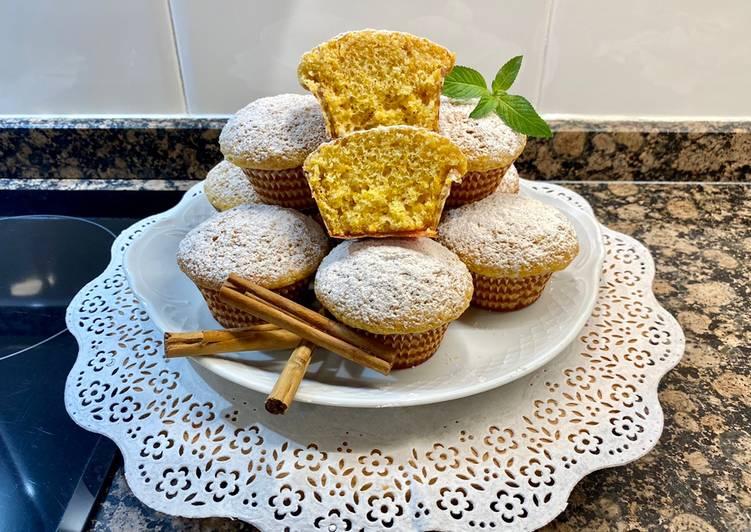 Muffin de calabaza y canela