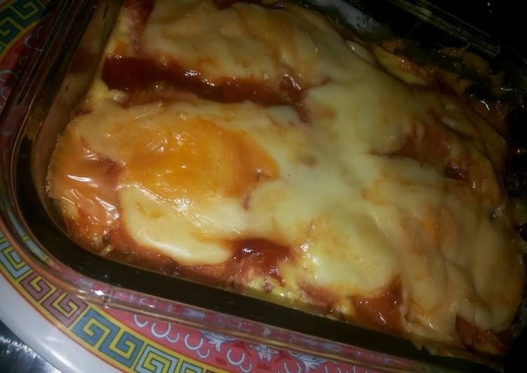 Spagetti Sausage Lasagna Ala-ala
