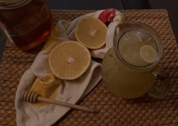 Recipe of Award-winning Honey Lemon Juice 🍋🍯