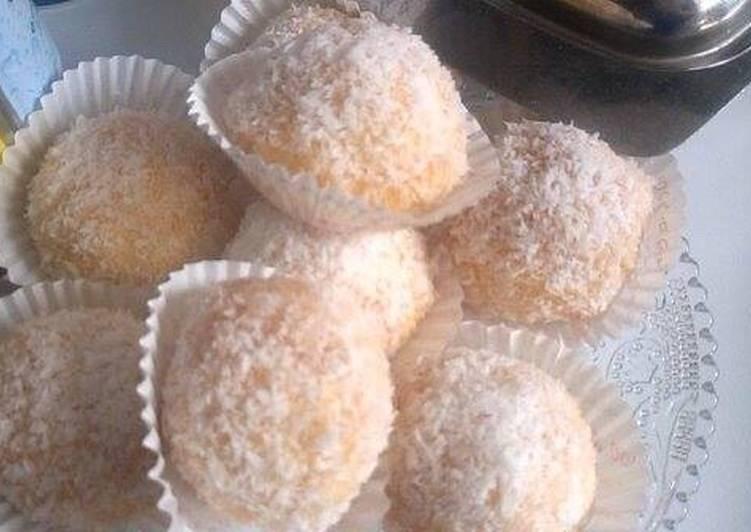 Façon la plus simple Faire Délicieux Boulettes aux noix de coco 🥥