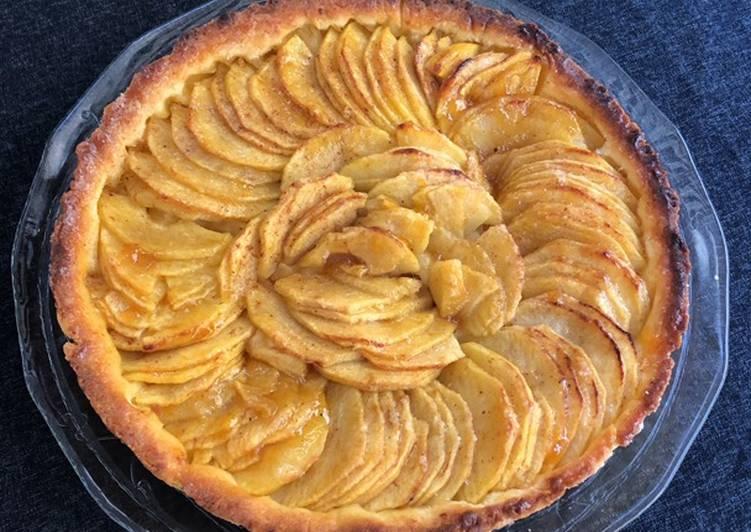 Le moyen le plus simple de Préparer Savoureux Tarte aux pommes