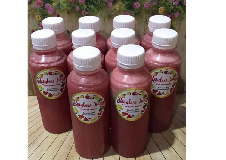 Diet Juice Timun Suri Watermelon Strawberry Pomegranate