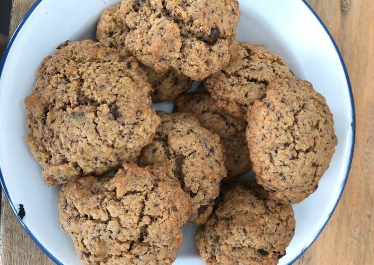 La Recette Pas à Pas Cookies au chocolat