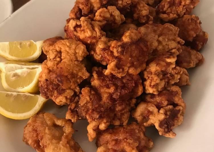 Recipe: Appetizing Chicken Karaage
