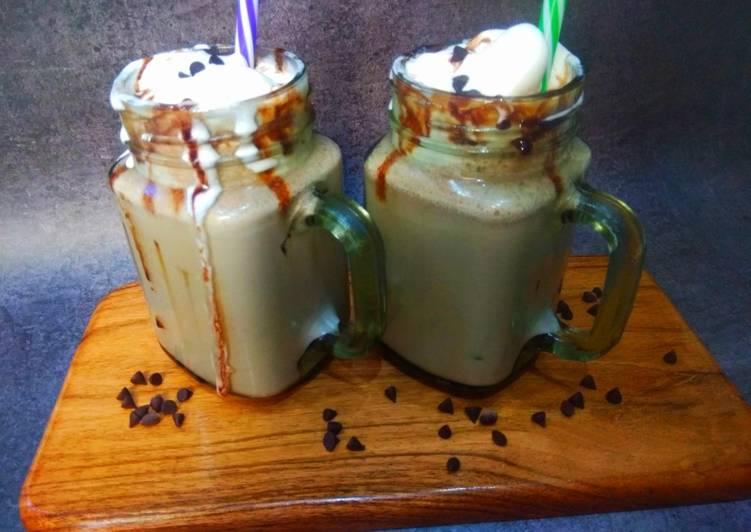 Recipe of Favorite Chocolate, ice-cream milkshake