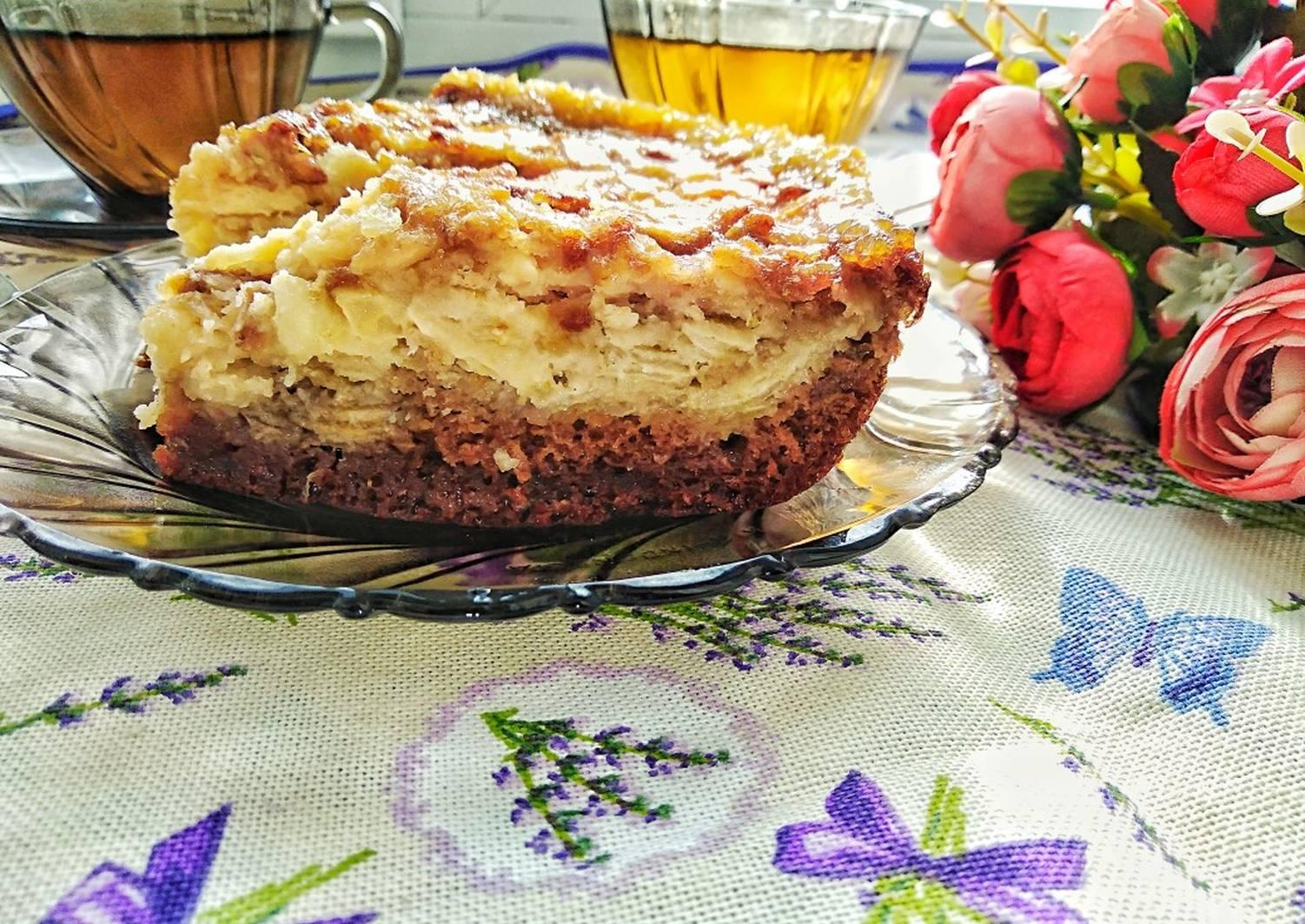 уголки крепятся рецепт нежного яблочного пирога с фото сцене как будто