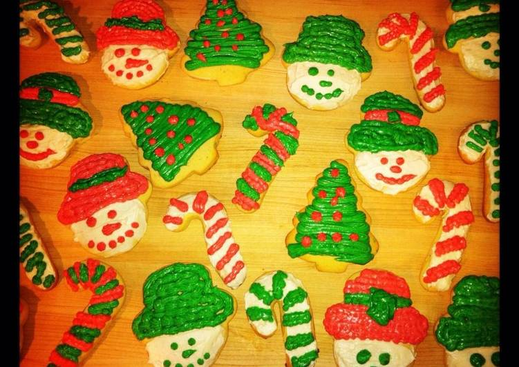 Recipe: Yummy Christmas Cookies