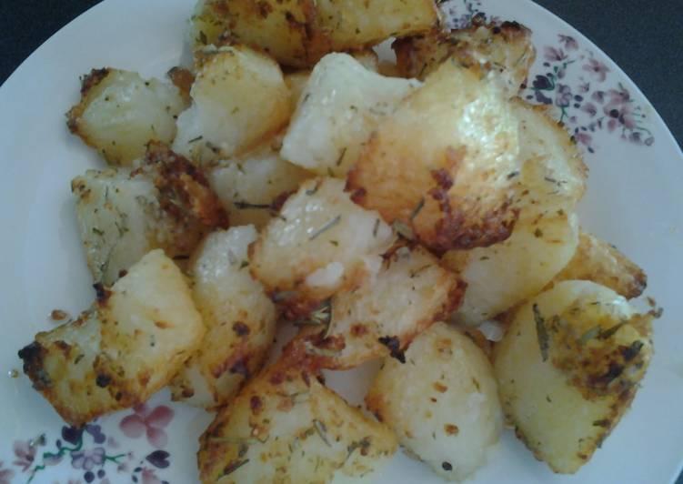 Herbed Roast Potatoes