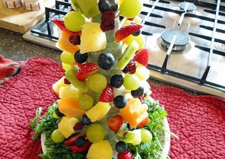 How to Cook Perfect fruit christmas tree
