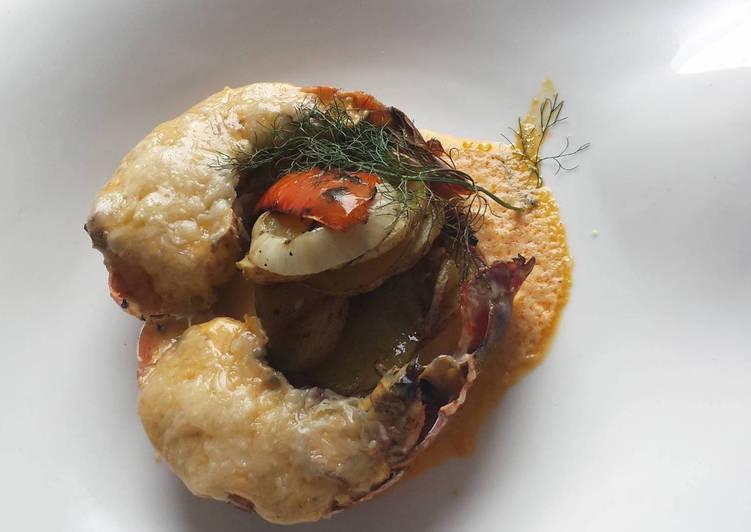 Cola De Langosta Termidor Receta De Chef Diosa Cookpad