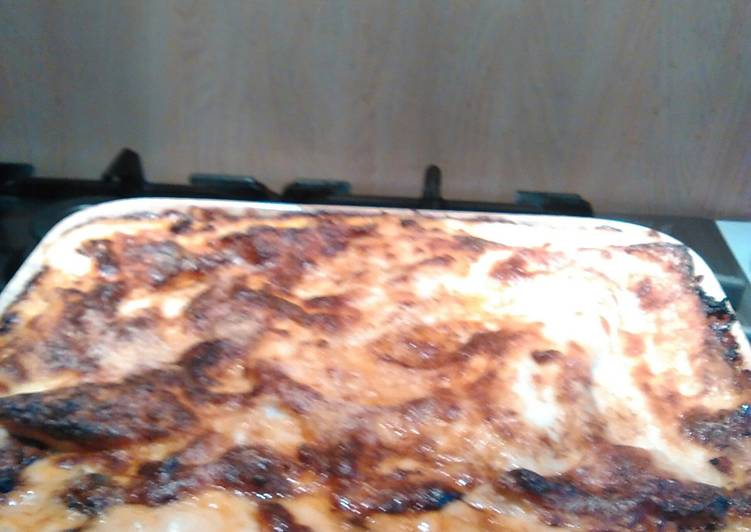 Recipe: Perfect The two cheeses lasagna