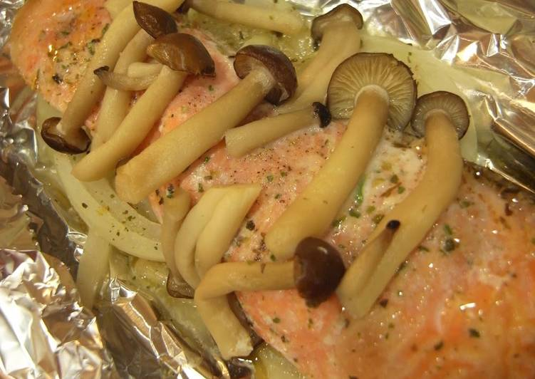 Easy Basic Foil-Baked Salmon, Coconut Oil Is Actually A Great Product And Can In Addition Be Advantageous For Your Health