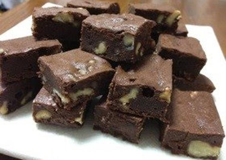 Simple & Rich Chocolate Brownies