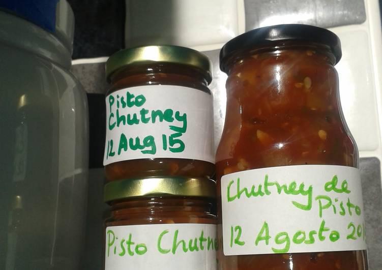 Recipe of Super Quick Homemade My pisto chutney