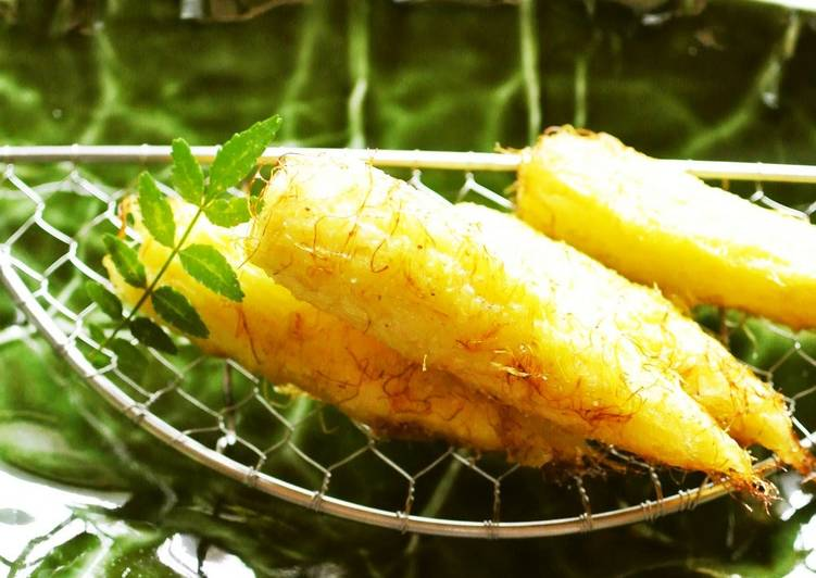 Deep Fried Fresh Young Corn