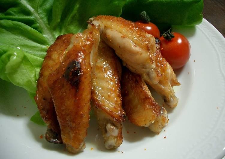 Simple Way to Prepare Favorite Easy Ponzu Chicken Wings