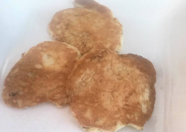 Matzo Meal-Puff Pancakes adapted from the Settlement Cookbook-1965