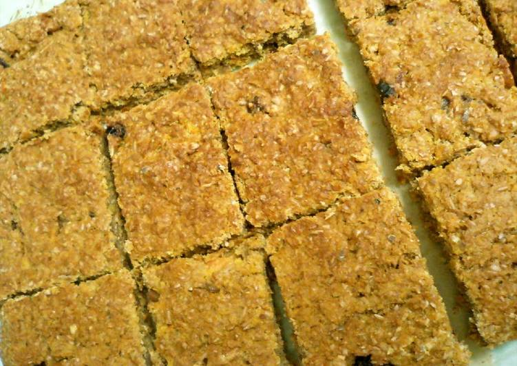 Recipe of Super Quick Homemade Oil-free & Sugar-free Ginger Carrot Bread
