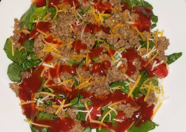 Recipe of Homemade Taco Salad