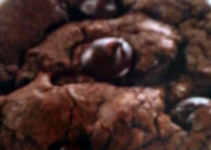 Recipe: Delicious Nestle Toll House Jumbo Dark Chocolate Cookies