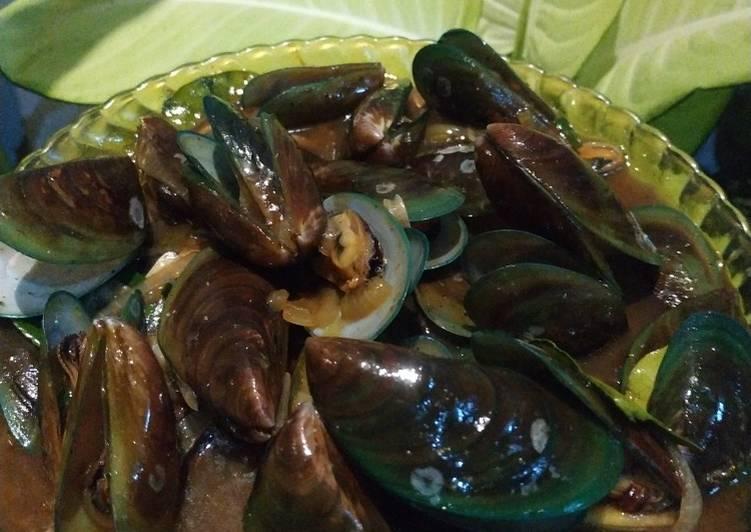 Resep Kerang hijau saus tiram yang sederhana
