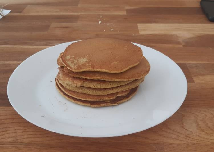 Pancakes moelleux complets