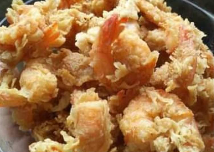 Easiest Way To Make Appetizing Udang Tepung Crispy