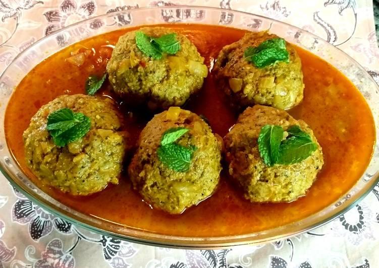 Mom's stuffed meatballs(Kufteh tabrizi)
