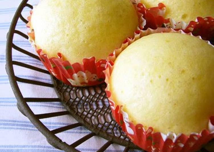 Recipe of Homemade Fluffy Steamed Cake with Pancake Mix