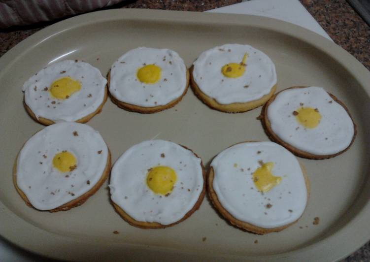 The Best Way to Make Perfect Ladybirds Fried Egg Biscuits/Cookies