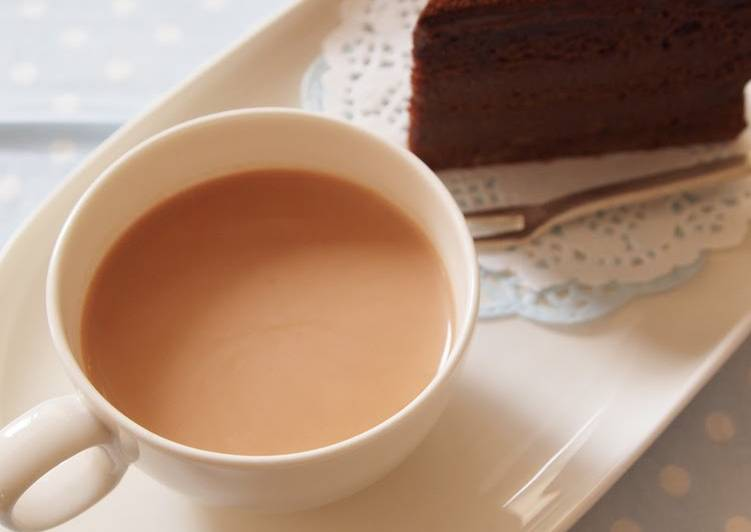 Hot Chocolate with Leftover Icing