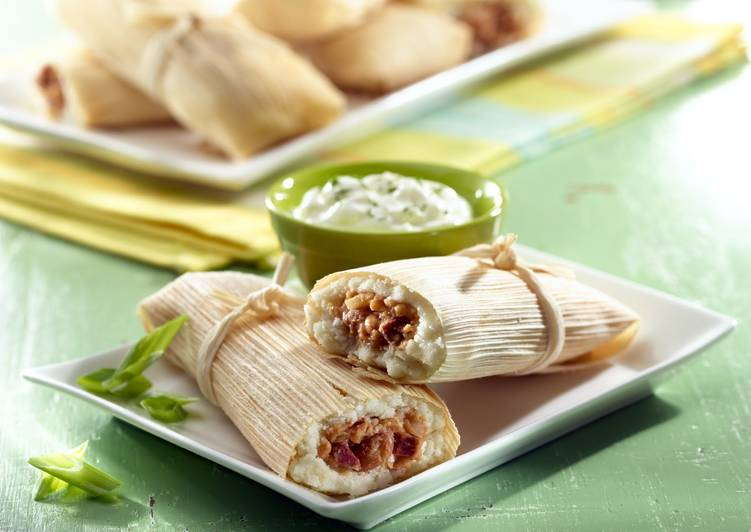 Recipe of Quick Bean & Chorizo Tamales