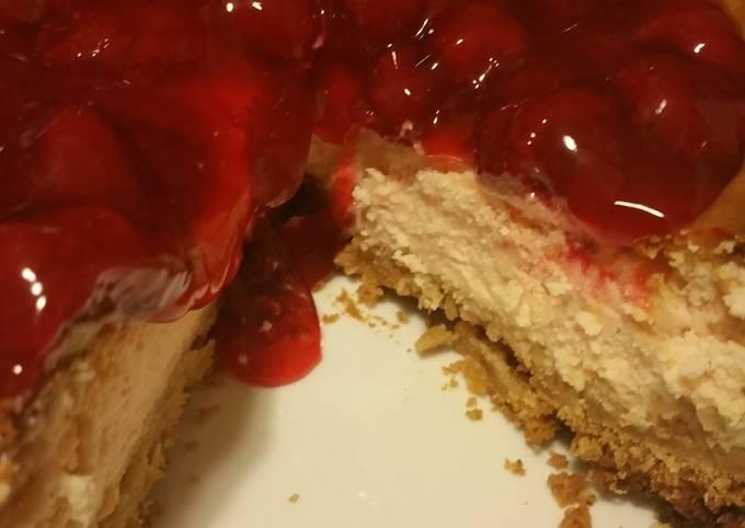 BP's Rum Cherry Cheesecake