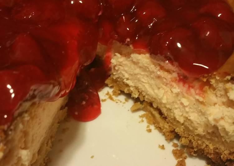 Turn to Food to Improve Your Mood BP's Rum Cherry Cheesecake