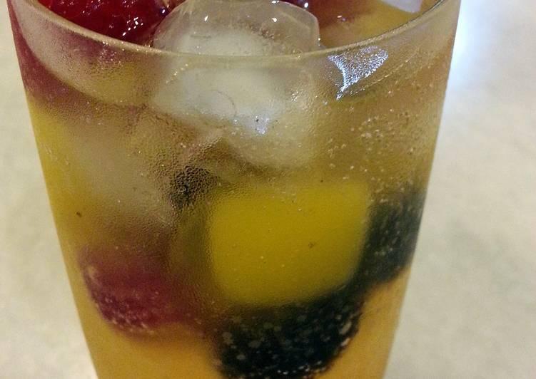 Fruity Soda Drink Recipe By Leegoh Cookpad