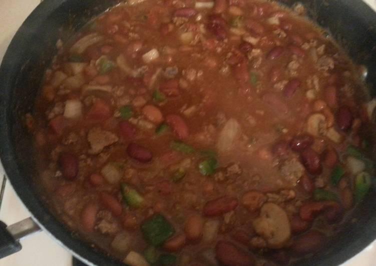Stone's chili beans