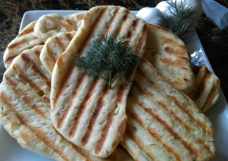 Easiest Way to Prepare Favorite Herb Naan Bread