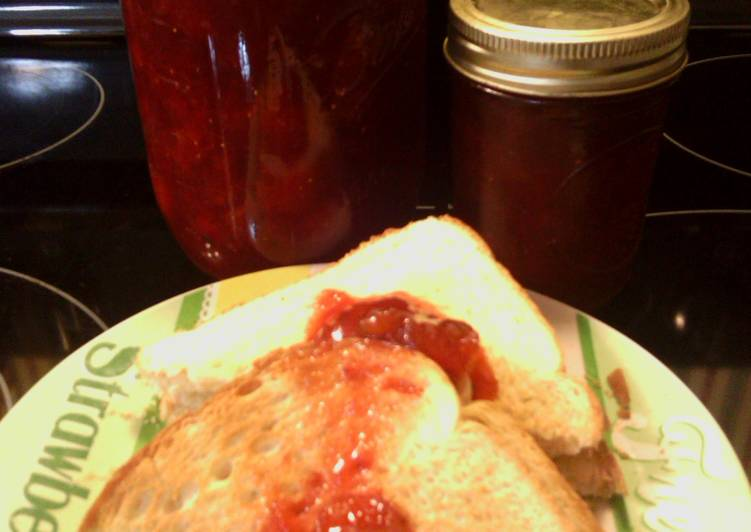 sunshines strawberry fig jam