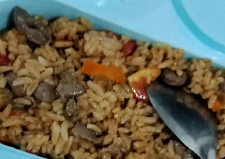 Nasi Goreng atau Nasi Gongso Ati