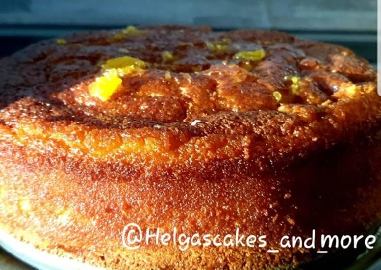 Saftiger Orangen-Kuchen