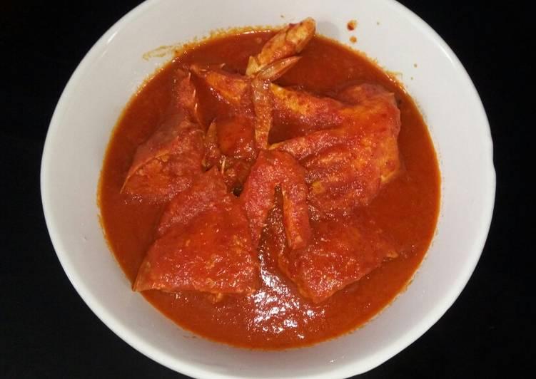Kepiting Asam Manis Pedas - cookandrecipe.com
